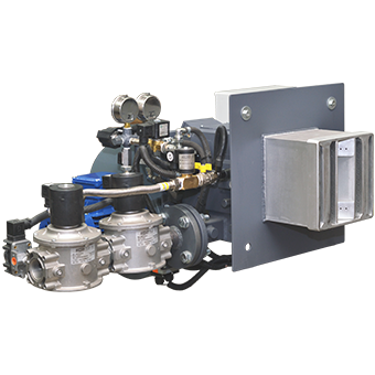 image of dual-fuel burner