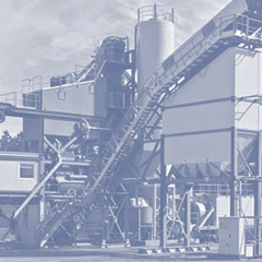 Modernization of asphalt plants