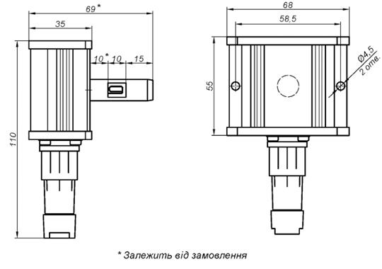 Схема фотодатчика пламени