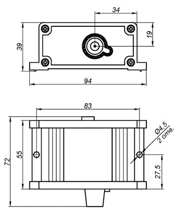Схема трансформатору розпалу